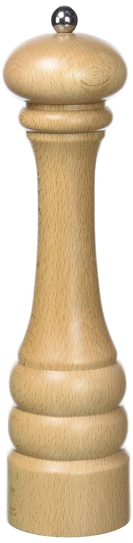 Serie Genova Bisetti Moulin /à poivre en bois de h/être natural grand 28,5 cm