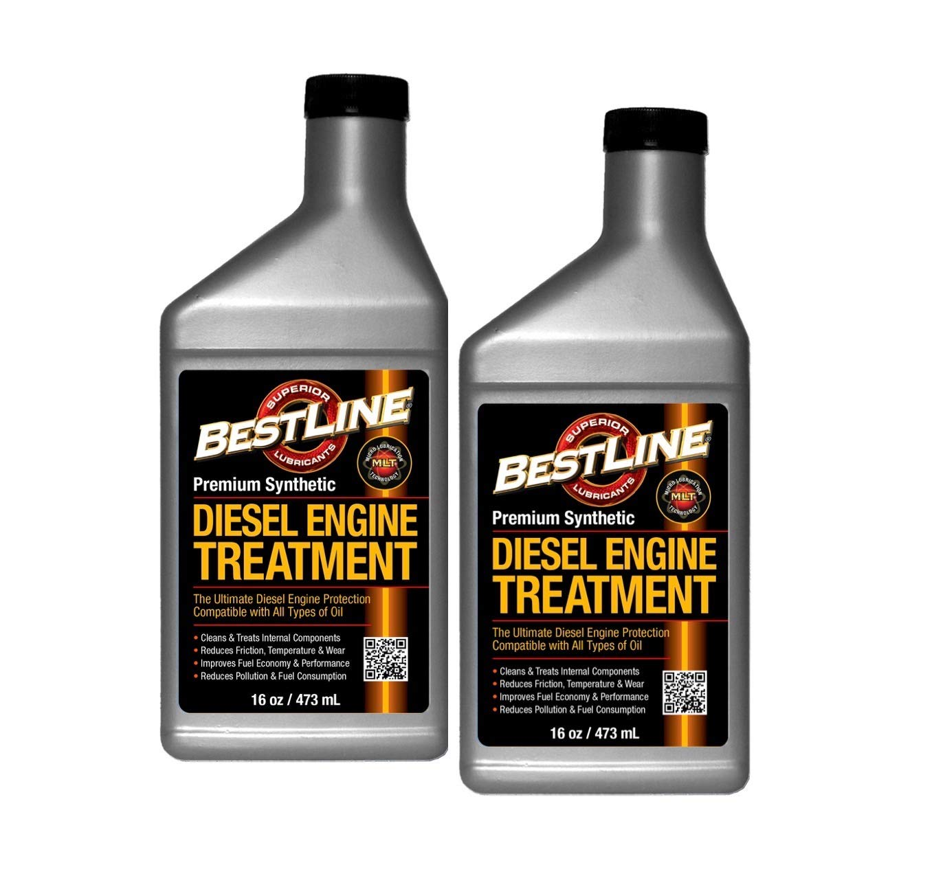 BestLine Diesel Engine Treatment 2 Pack BestLine Superior Lubricants