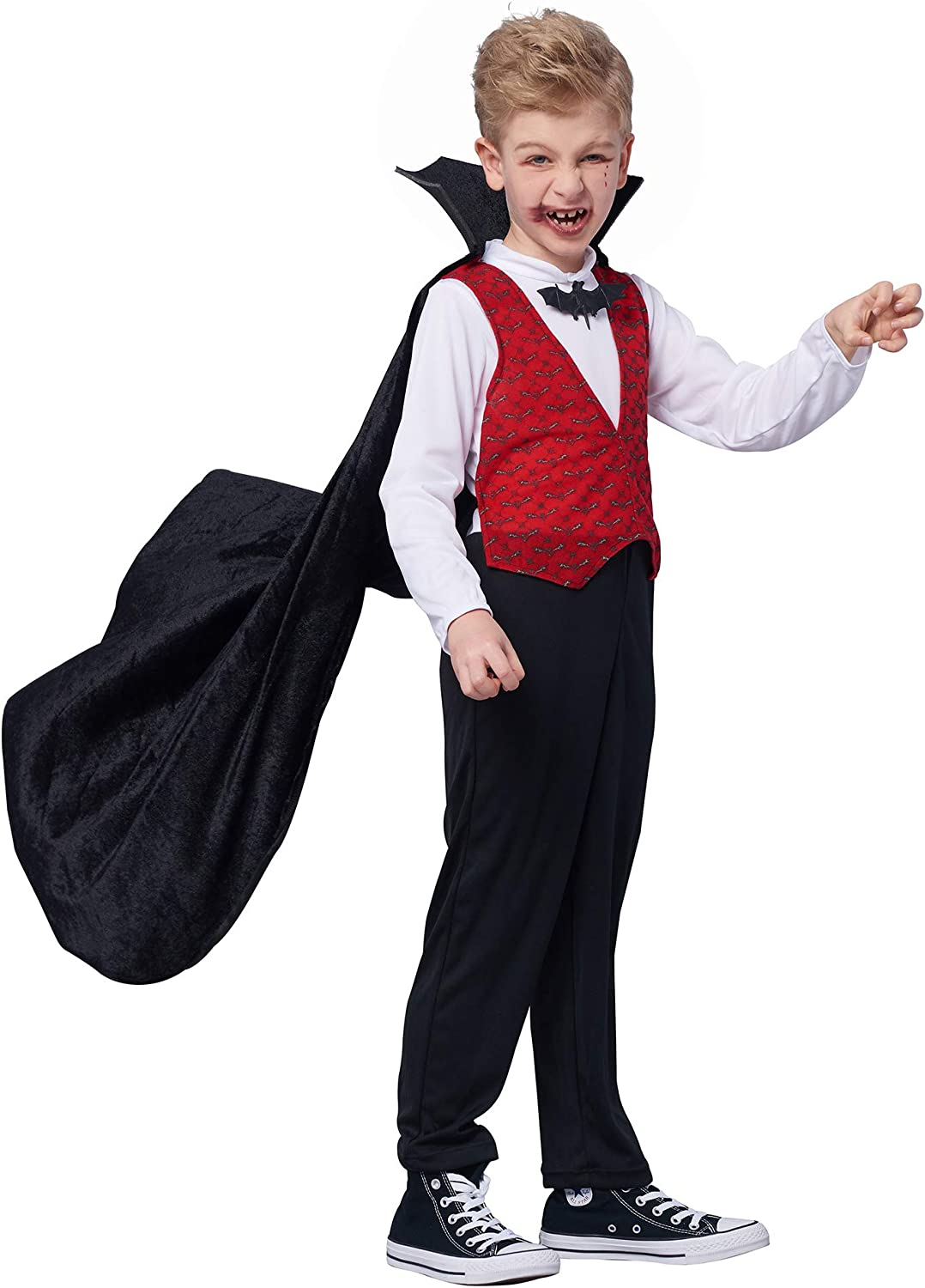 Vampire Mens Fancy Dress halloween Count Dracula Gothic Undead Adults Costumes