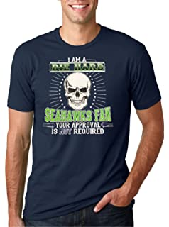 221ddc7b1 Rival Gear Seattle Football Fan T-Shirt, Don't Be a Dick | Amazon.com