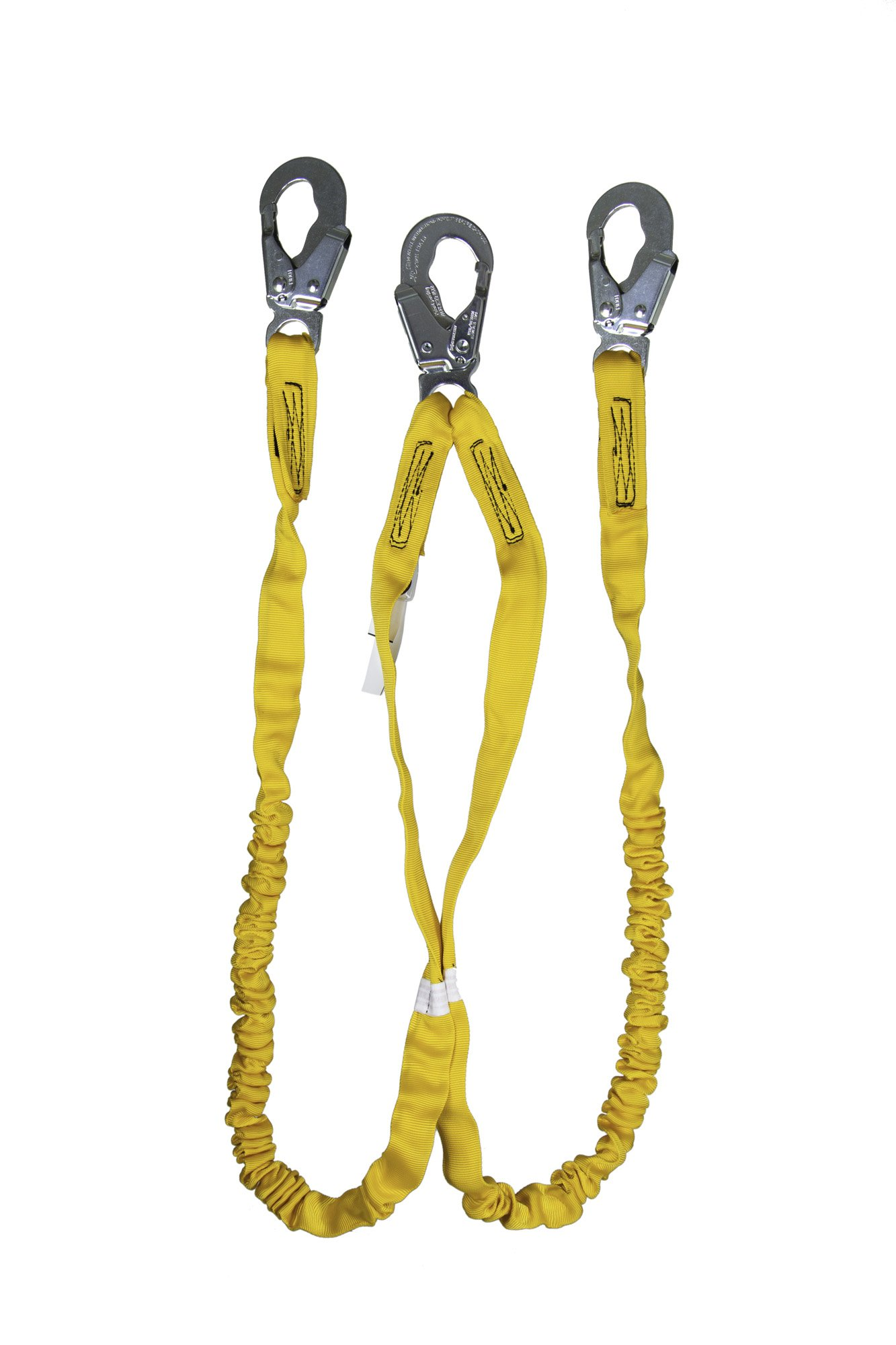 Guardian Fall Protection 11202 IS-72-2 6-Foot Double Leg Internal Shock Lanyard