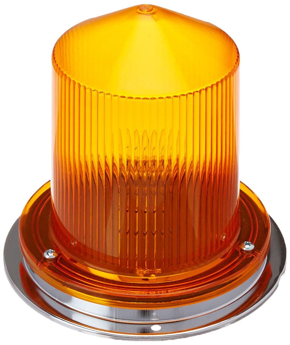 Grote 76083 Yellow Economy 360º Flashing Auxiliary Warning Light