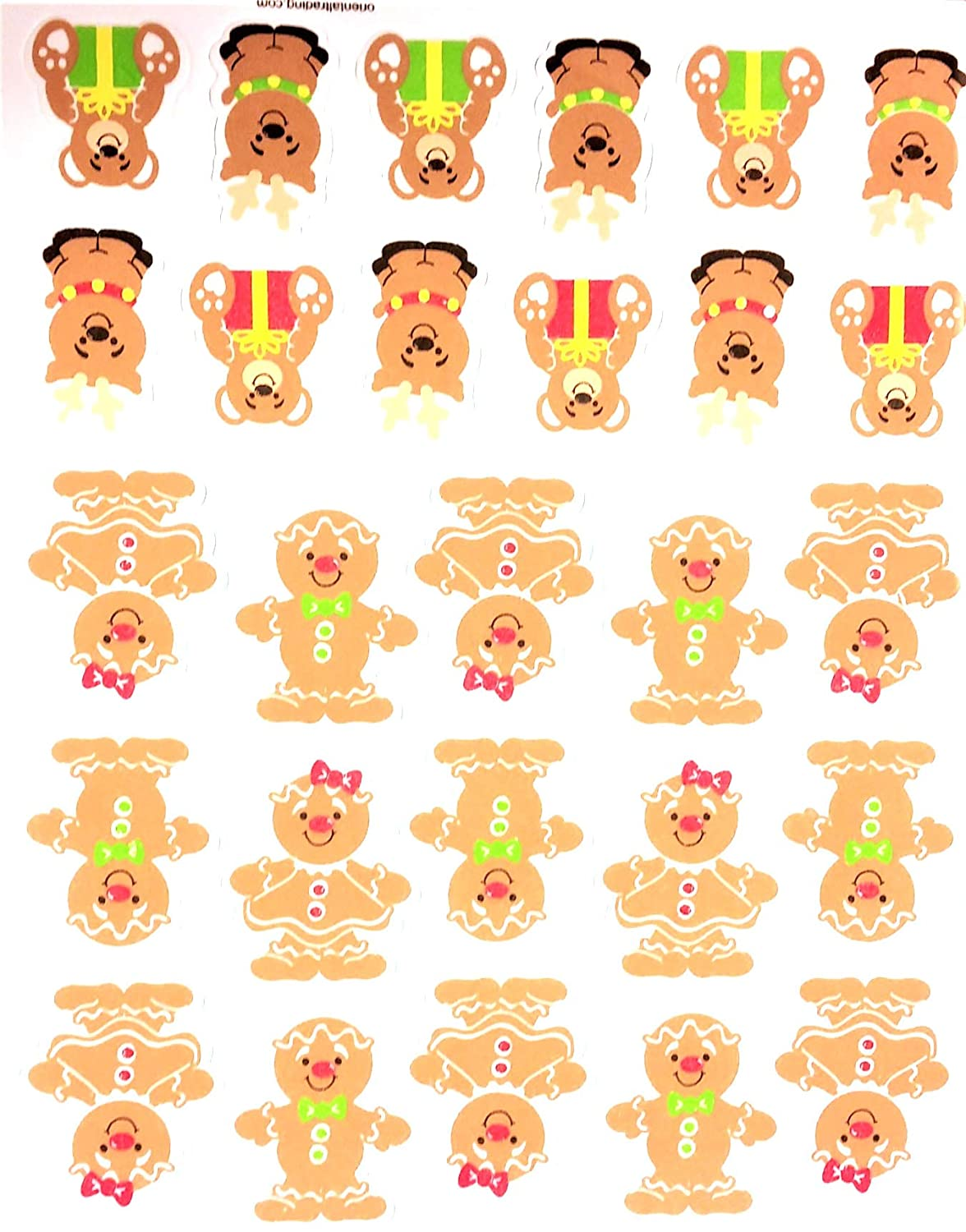 100+ Peel-Off Stickers Childrens Arts /& Crafts for Classroom Christmas Holidays Self-Adhesive Foam Stickers for Kids Stockings Shapes /& More! Xmas 2019 Bundle Presents Craft Supplies Santa