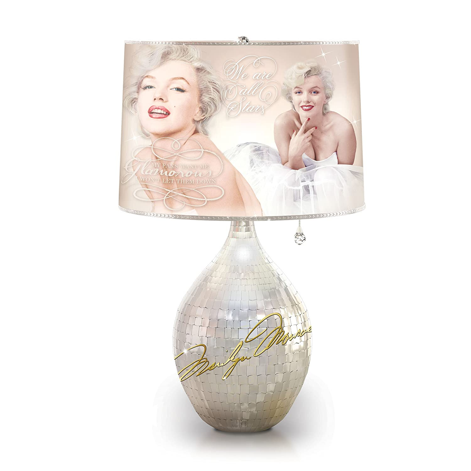 Citaten Van Marilyn Monroe : Officially licensed marilyn monroetm legendary glamour lamp with