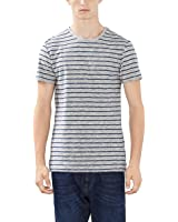 ESPRIT Herren T-Shirt Gestreift - Regular Fit