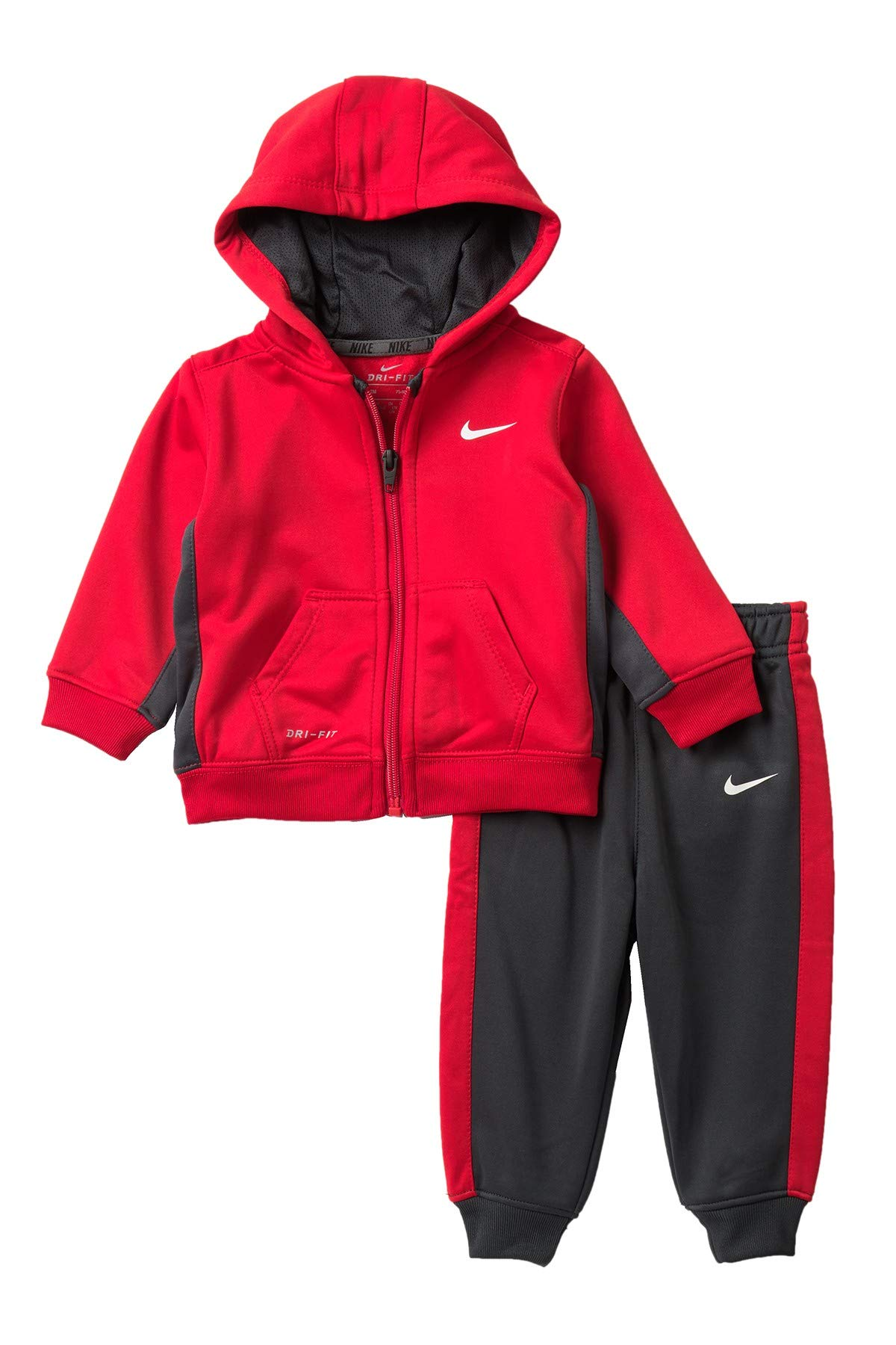 Nike Baby Boys' 2-Piece Therma Dri-Fit Sweatsuit - university red, 12 months by Nike