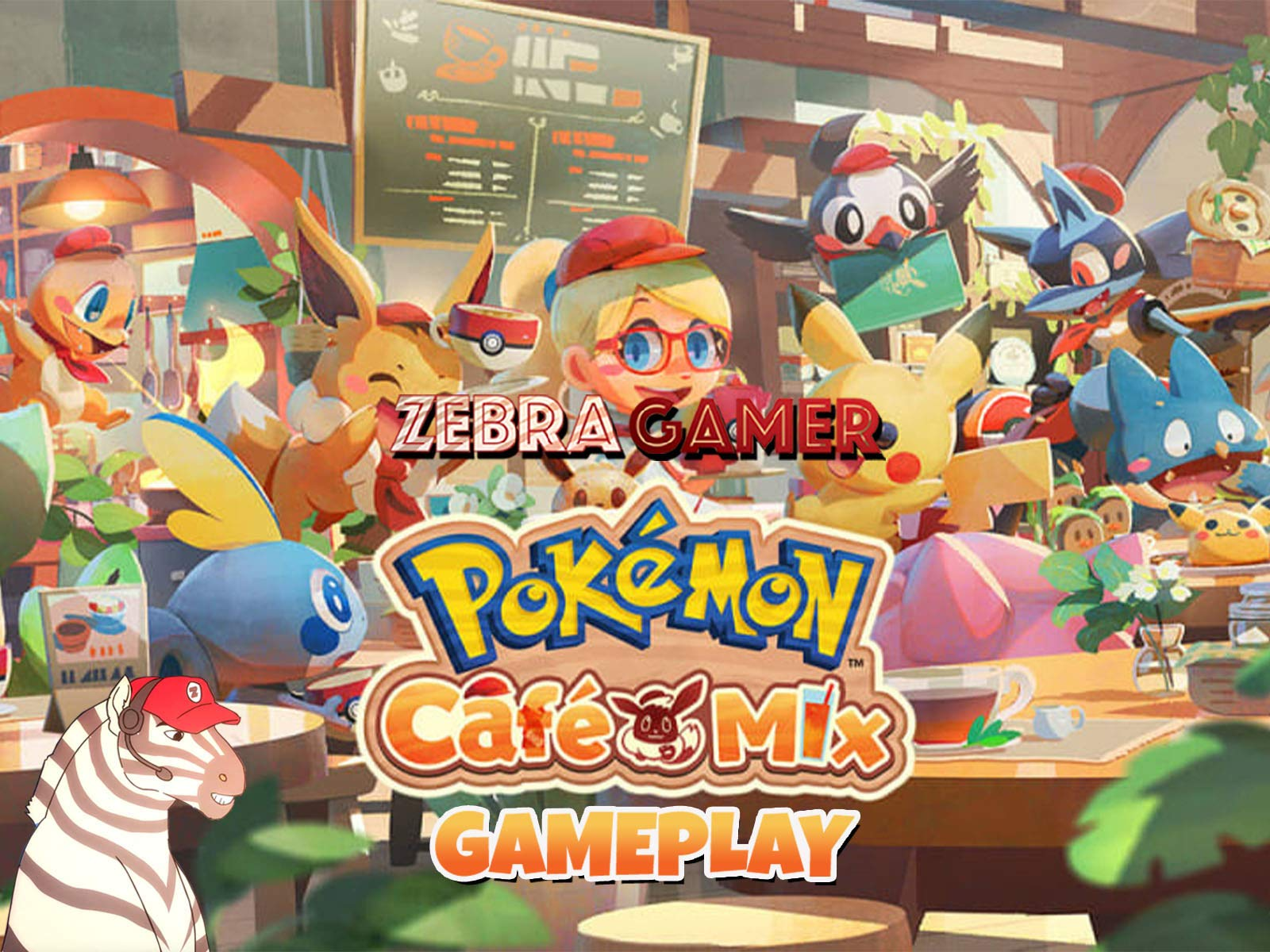 Clip: Pokemon Cafe Mix Gameplay - Zebra Gamer - Season 1