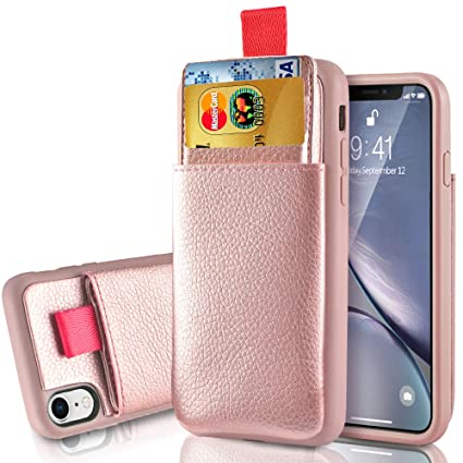 Amazon Com Lameeku Wallet Leather Case For Apple Iphone Xr 6 1