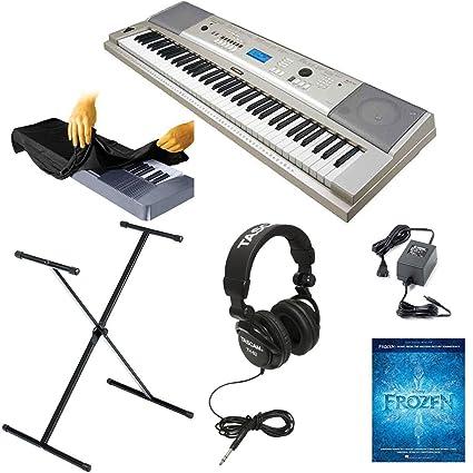 Yamaha ypg-235 Kit de portátil USB de teclado de 76 teclas con X-