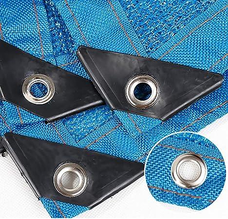 ZAY Sombra de Tela Al Aire Libre para Grandes Áreas de Jardín Pérgola Patio Toldos para Piscinas, Sombreado Azul Cubierta de Red de Polietileno Transpirable con Ojales (Size : 2M×4M): Amazon.es: Hogar