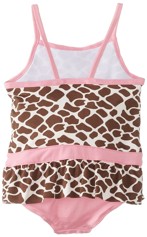 1e432de2b96e2 Amazon.com: Wippette Baby Girls' Giraffe Swimsuit & Cover Up, Pink, 18  Months: Clothing
