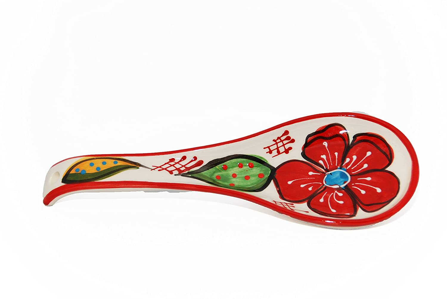 Handmade Spoon Rest (Flora)
