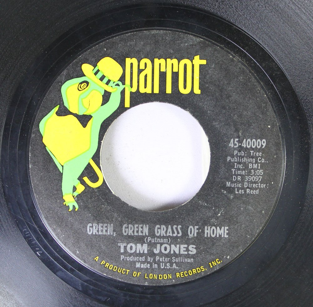 Tom Jones 45 RPM Green, green grass of home / If i had you