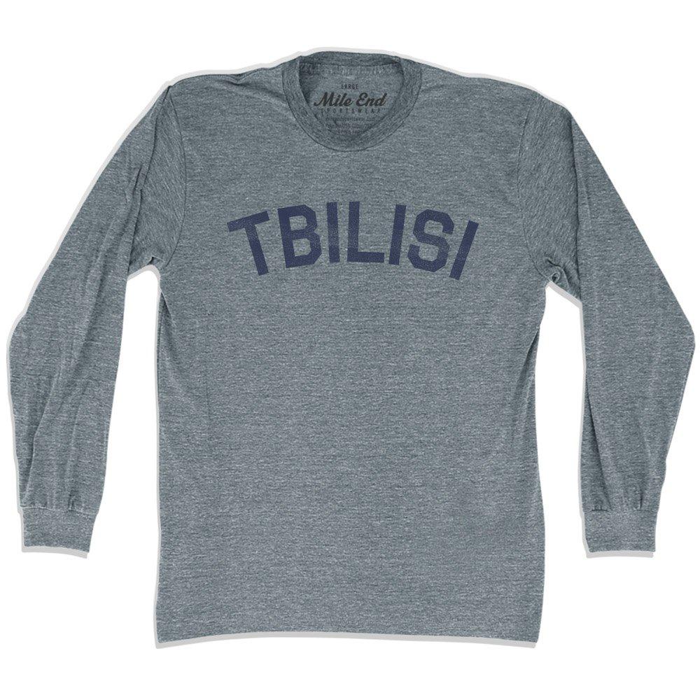 Tbilisi City Vintage Long Sleeve T-shirt