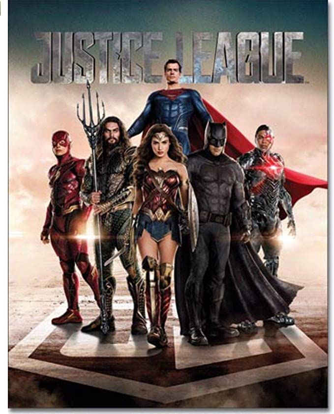 Metal Tin Sign super hero justice league Bar Pub Home Vintage Retro Poster Cafe