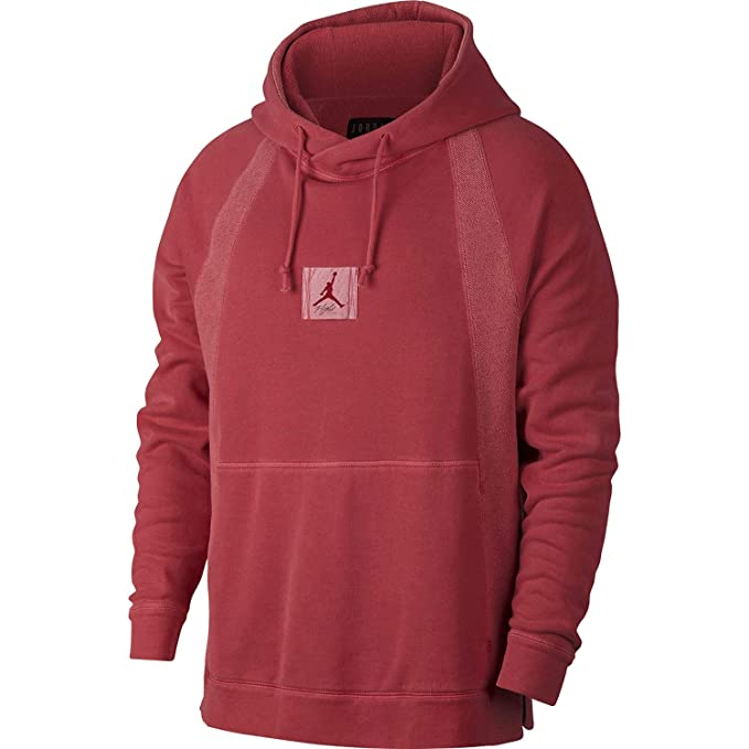 Air Jordan Washed Wing Pullover Hoodie Red 939956-687 ...