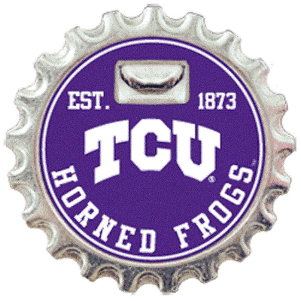 Texas Christian University Magnetic Bottle Opener