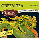 Celestial Seasonings Authentic Green Tea, 40 Count (Pack of 6)