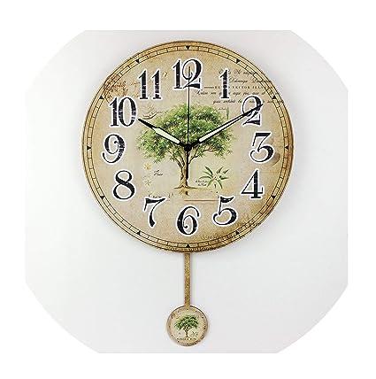 Amazon com: Zgen Wholesale Designer Wall Clock Modern Home