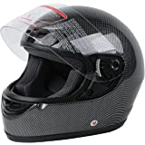 XFMT DOT Adult Carbon Fiber Flip Up Full Face Motorcycle Helmet XXL