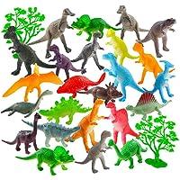 Auihiay - Juego de 26 Mini Figuras de Dinosaurio de plástico para educación Infantil, Paquetes de Fiesta, Regalos de…