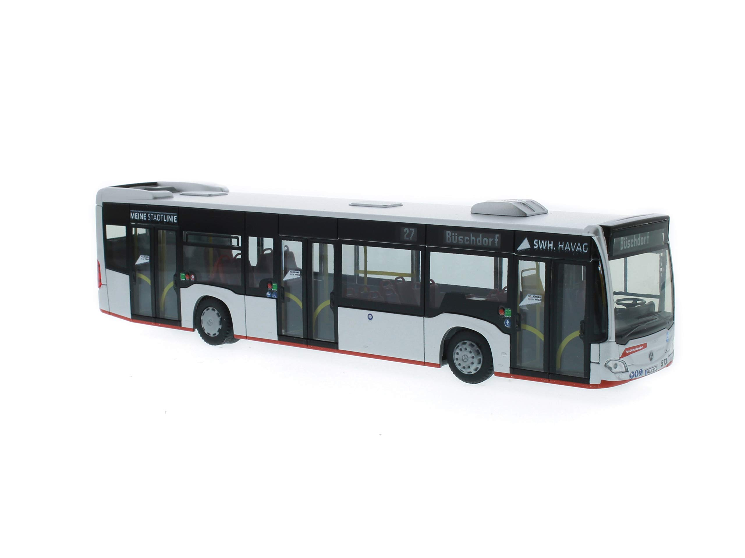 Reitze 73415 Rietze Mercedes-Benz Citaro 15 Havag Genscher Bus Hall Scale 1:87 H0, Multi Colour