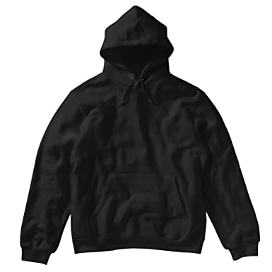 70fea3e2cf824 SG Ladies Womens Plain Hooded Sweatshirt Top Hoodie (XS) (Black ...