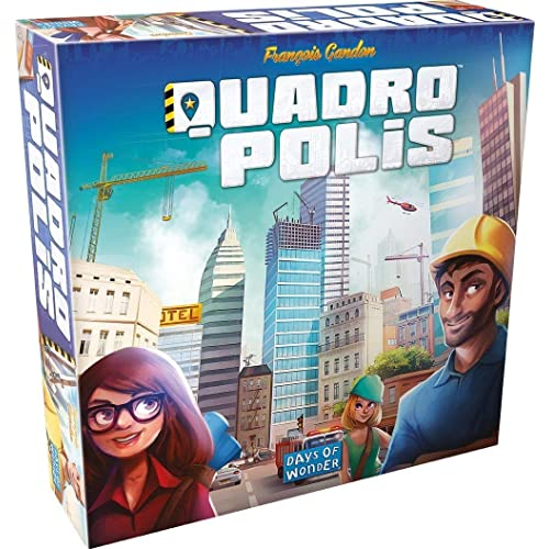 Days of Wonder Quadropolis Board Game English