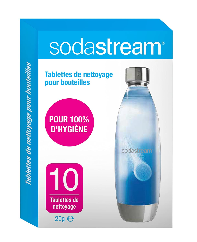 Sodastream Pastiglie detergenti, Colore Confezione: Bianco/Blu, 11x 2x 17cm, 10pz OPM France 30061954