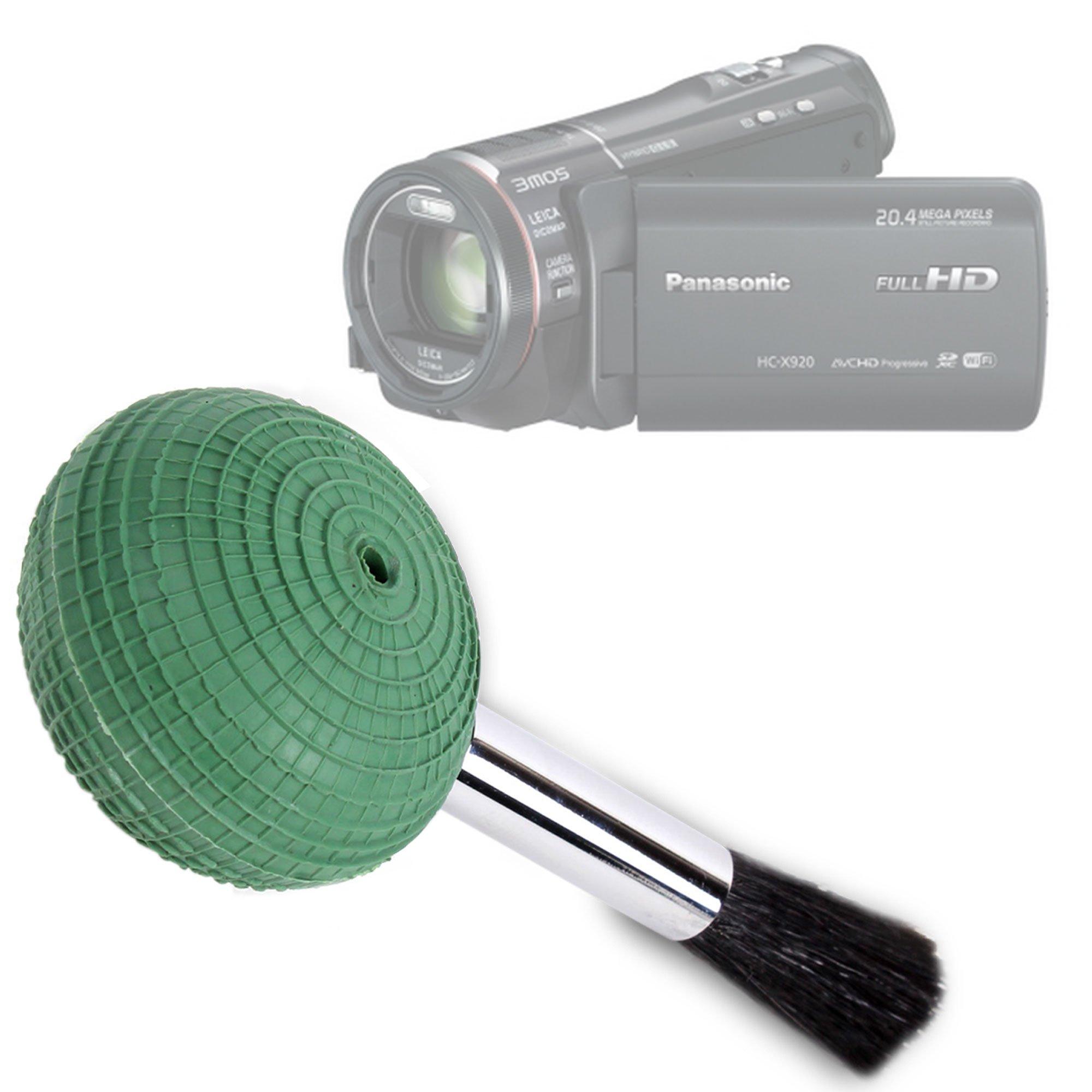 DURAGADGET Camera Lens Blower Brush Cleaning Pen for Panasonic HC-V520 Camcorder Classic 1080 Pixels Optical Zoom 50 x 2.51 Mpix/Panasonic HX-WA3EB-W