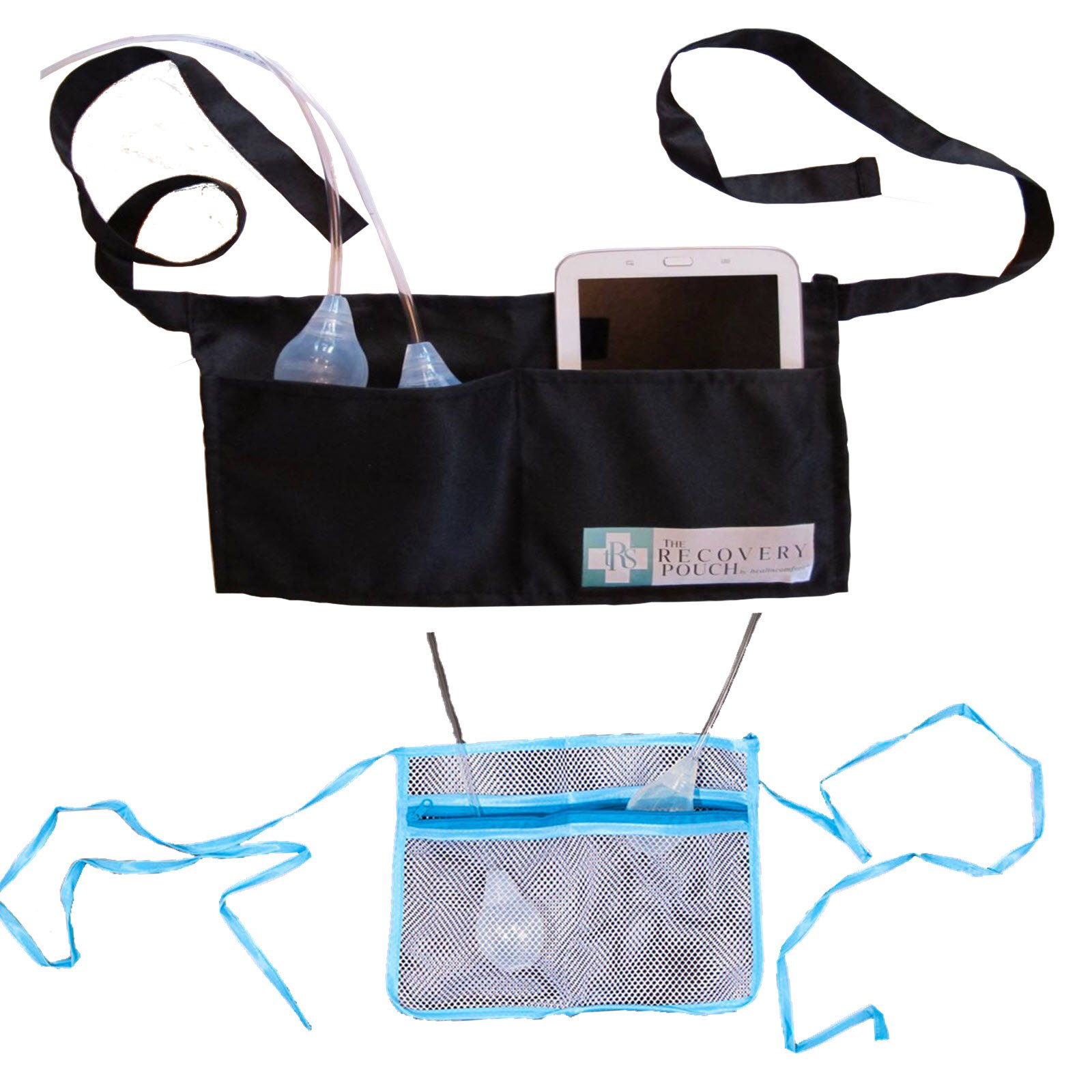 Heal in Comfort Wet & Dry Drain Pouch Kit Solution for Temporary Surgical Drain Management
