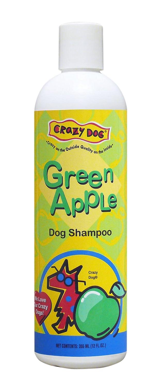 12 oz Crazy Dog Green Apple Shampoo