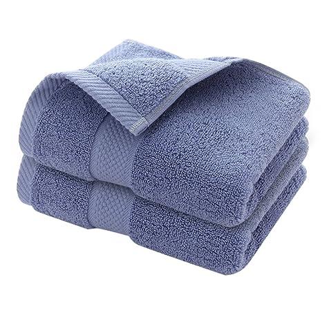 Zhhlaixing Set of 2 Pieza Calidad Baño Toallas, Algodón Towel Set, Hotel Soft and