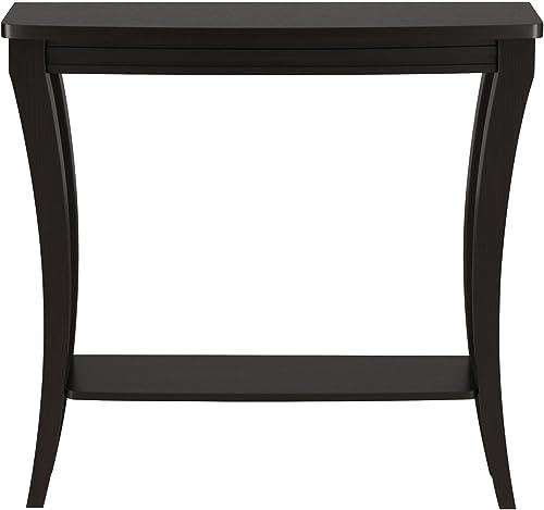 ioHOMES Danita Graceful Console Table, Cappuccino