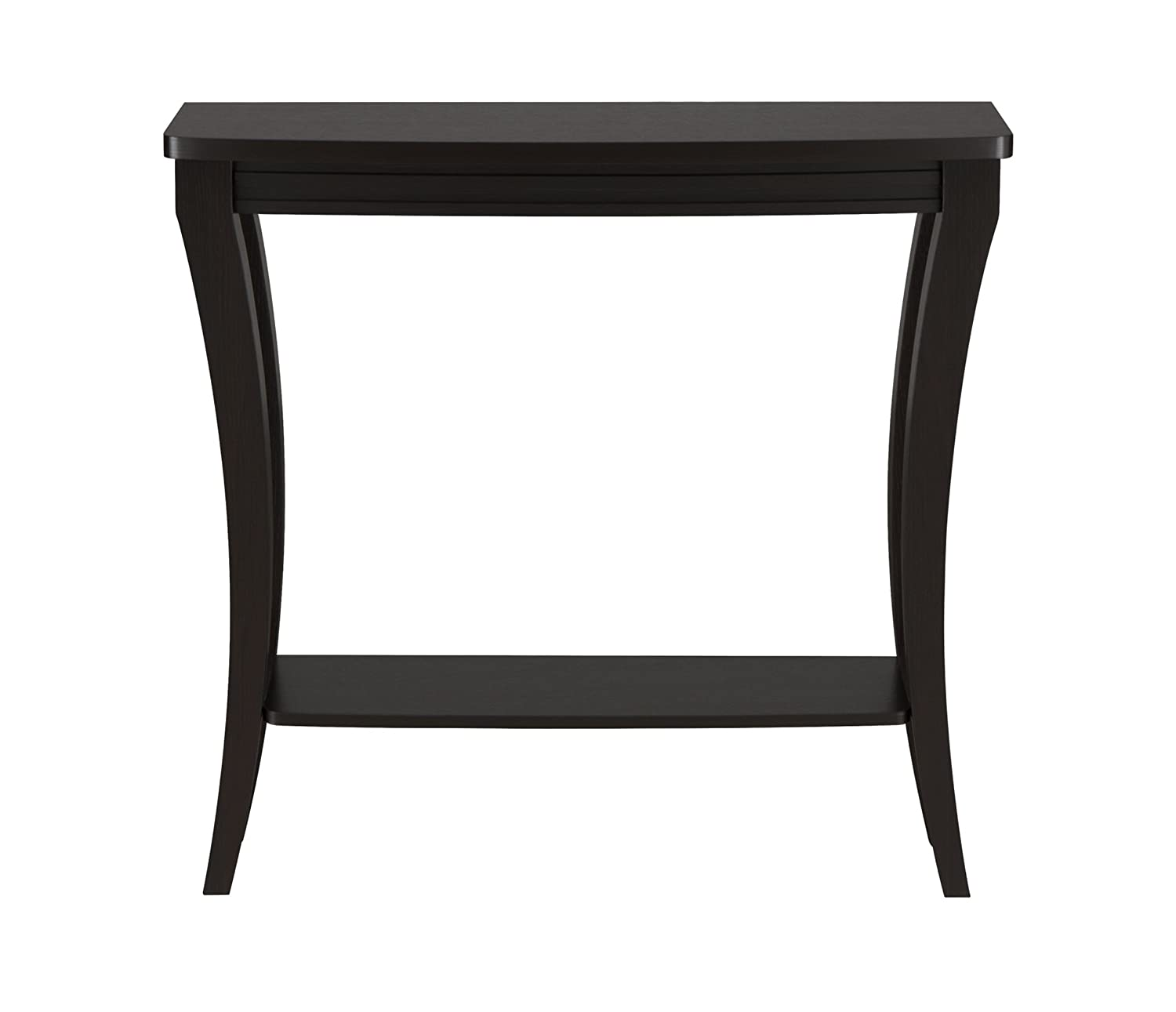 ioHOMES Danita Graceful Console Table, Cappuccino