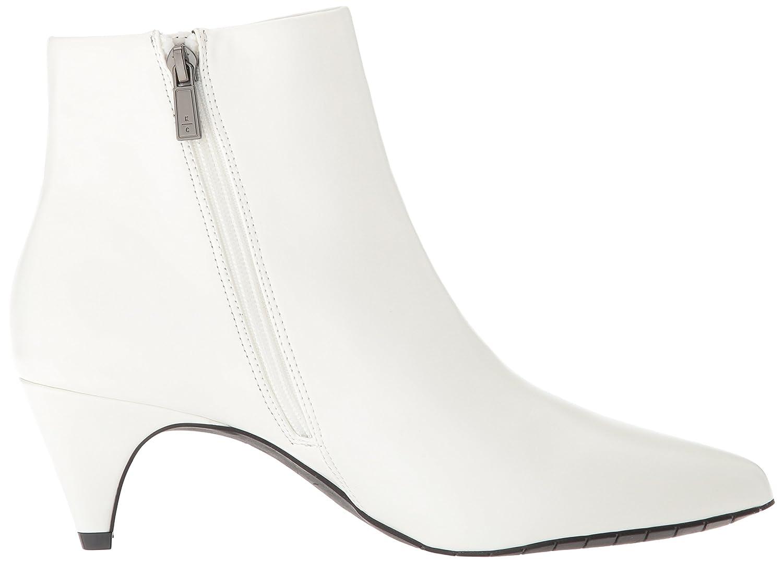 Kenneth Cole REACTION Women's Kick Bit Kitten Heel Bootie Ankle Boot B07DYSHYL1 5.5 B(M) US|White