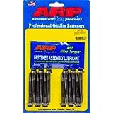 ARP Rocker Arm Stud, Pedestal, 8 mm x 1.25 Base Thread, 8 mm x 1.00 Top Thread, 2.00 in Effective Stud Length, Chromoly…