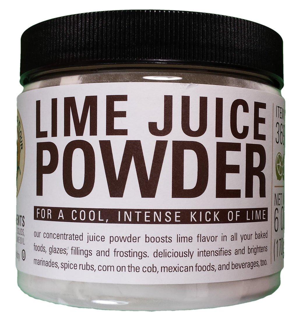 King Arthur Flour Lime Juice Fruit Powder - 6 Oz by King Arthur Flour (Image #1)