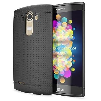 NALIA Funda Carcasa Compatible con LG G4, Protectora Movil Silicona Fina Bumper Estuche con Puntos, Goma Cubierta Telefono Celulare Cobertura Delgado ...