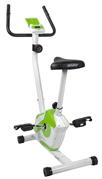 Cockatoo MAB-02 Imported Magnetic Exercise Bike With Hi-Tech Display Feature; Exercise Cycle; Air Bike Exercise Bikes at amazon