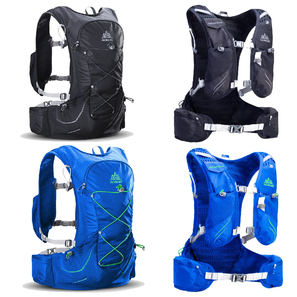Amazon.com : TRIWONDER 15L Hydration Pack Ultra Trail Running Vest Marathon Backpack with Hydration Bladder (Black - with 2L Water Bladder) : Sports & ...