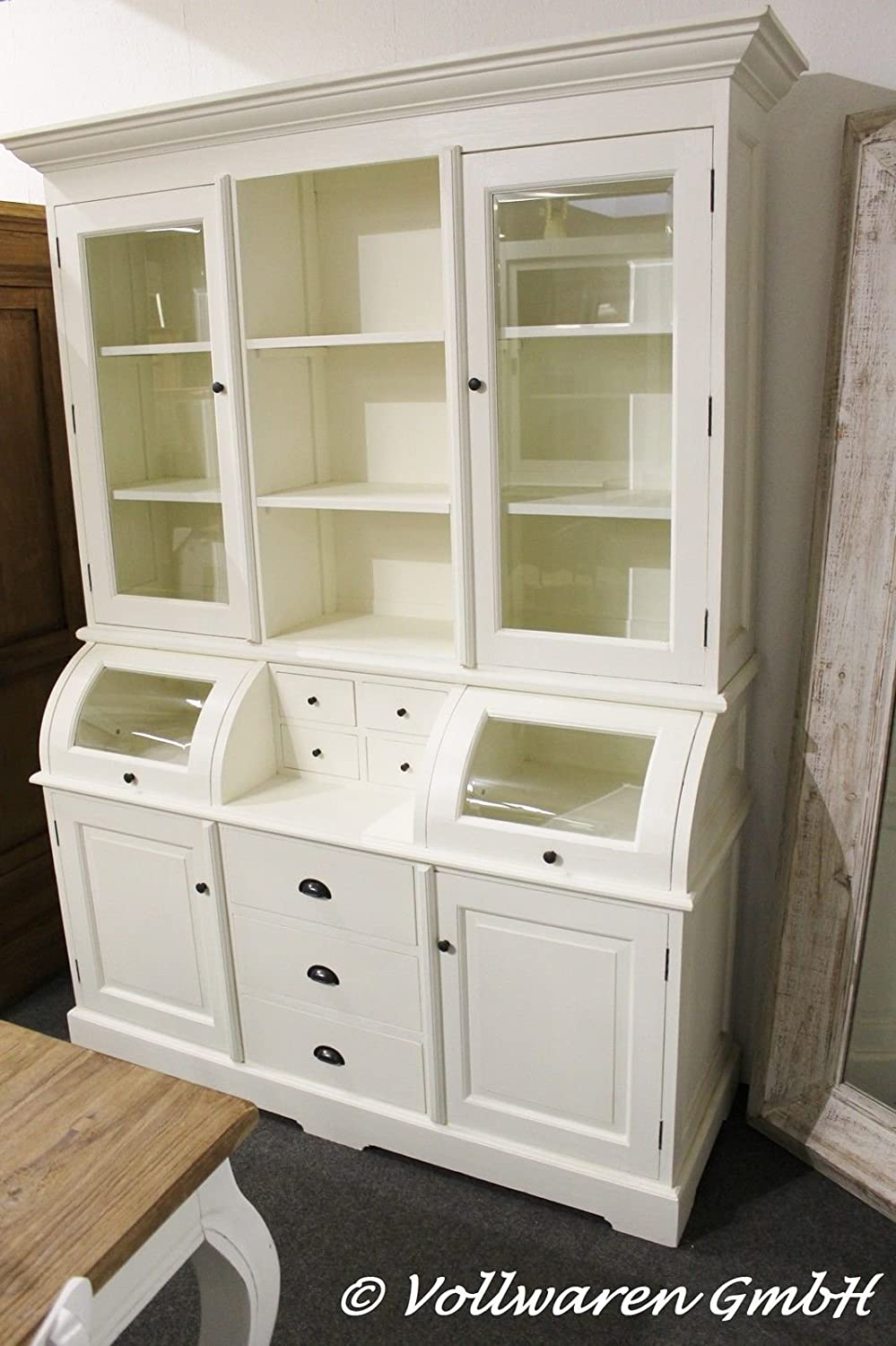 vintage landhaus buffet britagne no2 white wash shabby. Black Bedroom Furniture Sets. Home Design Ideas
