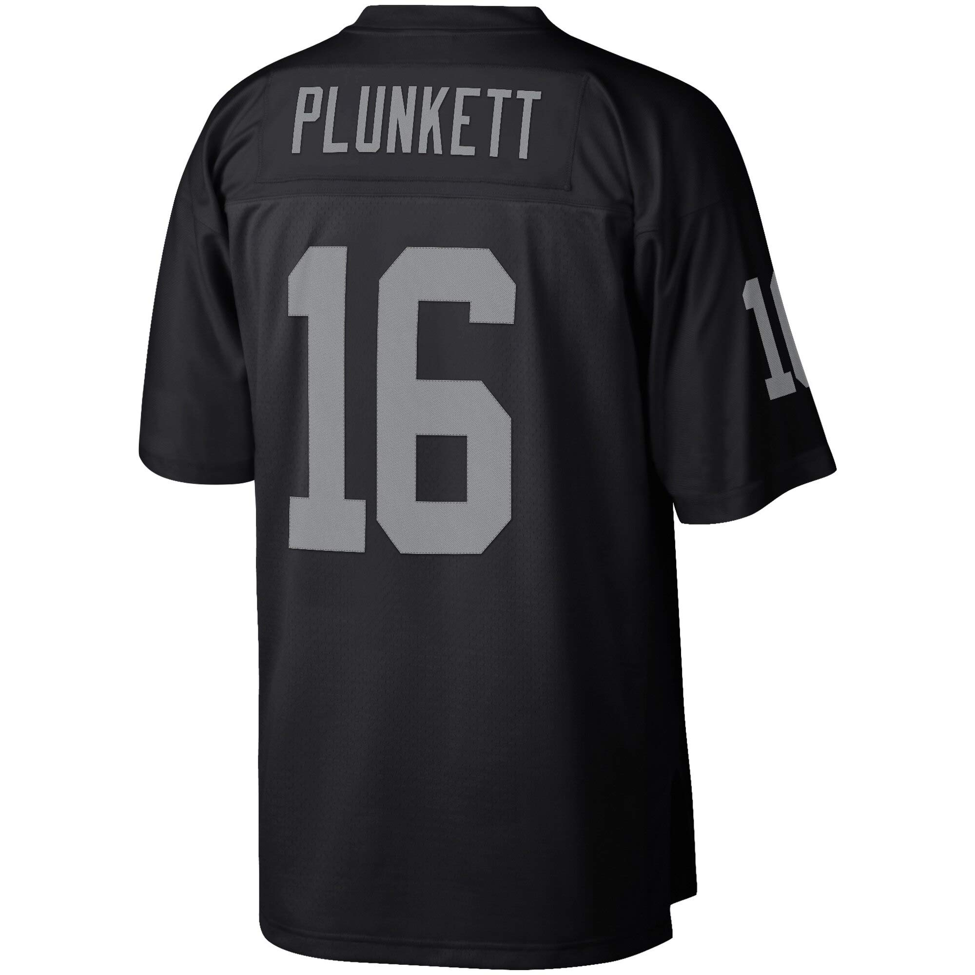 VF LSG Men's Oakland Raiders Jim Plunkett Retro Quick Drying Jersey-Black by VF LSG
