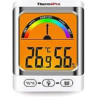 ThermoPro TP52 Higrómetro Termómetro Digital Medidor de Temperatura y Humedad Ambiente Interior Termohigrómetro con…