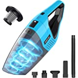Handheld Vacuum Cordless, 7KPA Hand Vacuum Cleaner Rechargeable Portable with Stainless Steel Filter Wet Dry Lightweight…