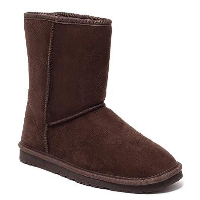 on sale 5c8d7 b53cd Mädchen und Damen Trend Stiefel, Chocolate