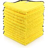 AIDEA Microfiber Detailing Towel, Cleaning Cloth Drying Towel, Scratch-Free, Strong Water Absorption Cleaning Cloth for…