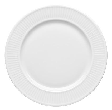 Ekstra Amazon.com | Pillivuyt Plisse 8-1/2-Inch Plate: Dinner Plates HL55