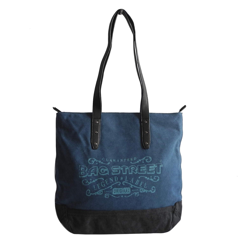 Bag Street Canvas Damen Handtasche Damentasche Schultertasche Auswahl