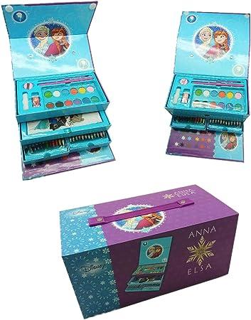 Maletin Pinturas 3 Pisos de Frozen: Amazon.es: Juguetes y juegos